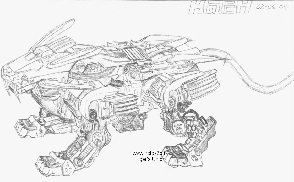 Liger coloring pages ~ Liger's Union :: Welcome